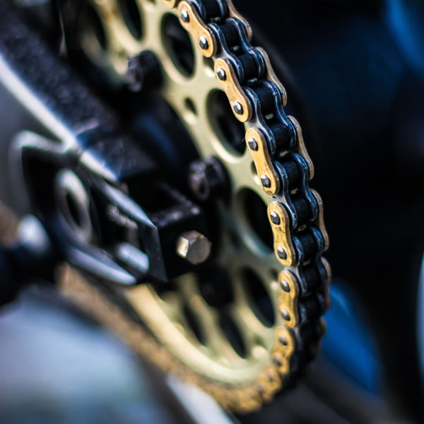 Kit de arrastre para moto